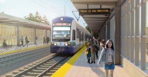 Federal Way Link Extension Station Architectural Rendering